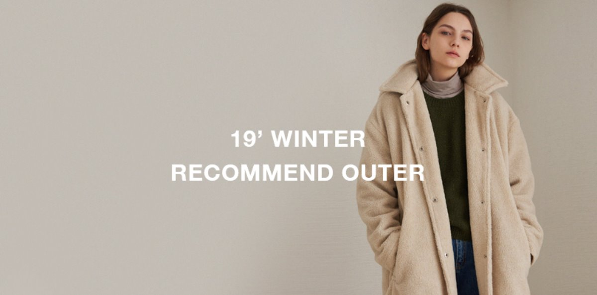 유라고 URAGO 19 Winter Recommend outer